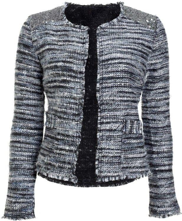 Sequin Tweed Jacket > ook een jasje van @ModeMusthaves .com
