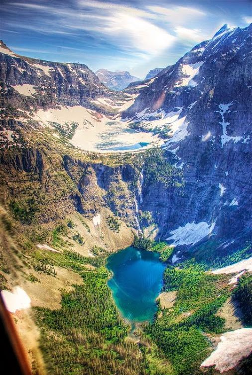 Le parc national de Glacier