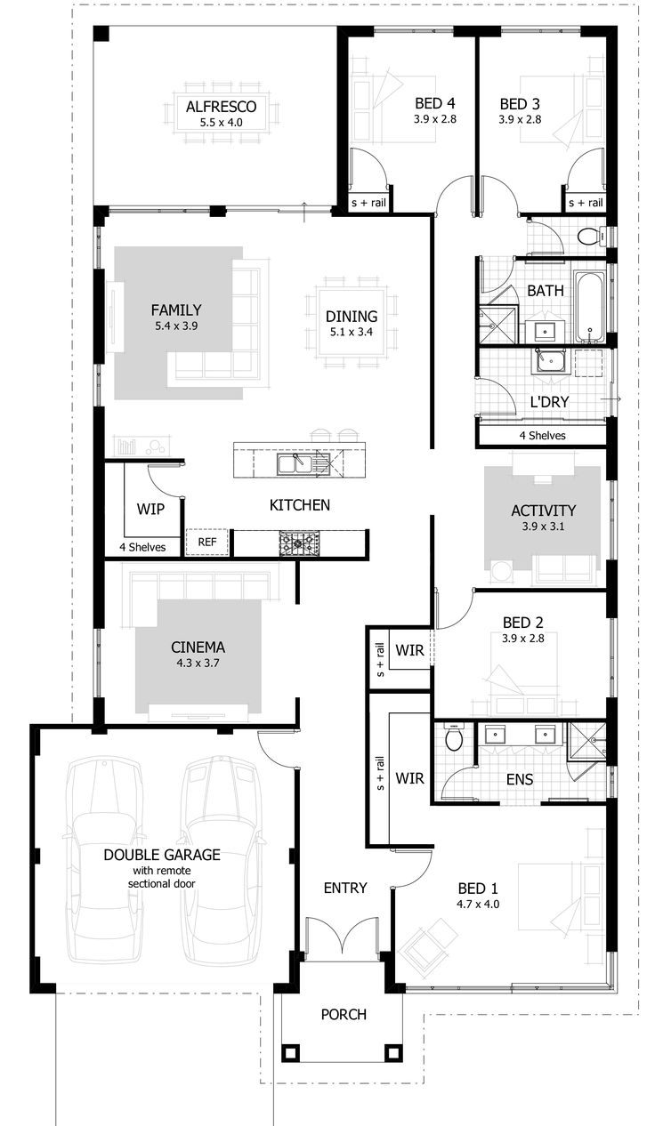 Best 25 Single Storey House Plans Ideas On Pinterest Sims 4 Houses Layout Sims 3 Houses Plans And Extension Google