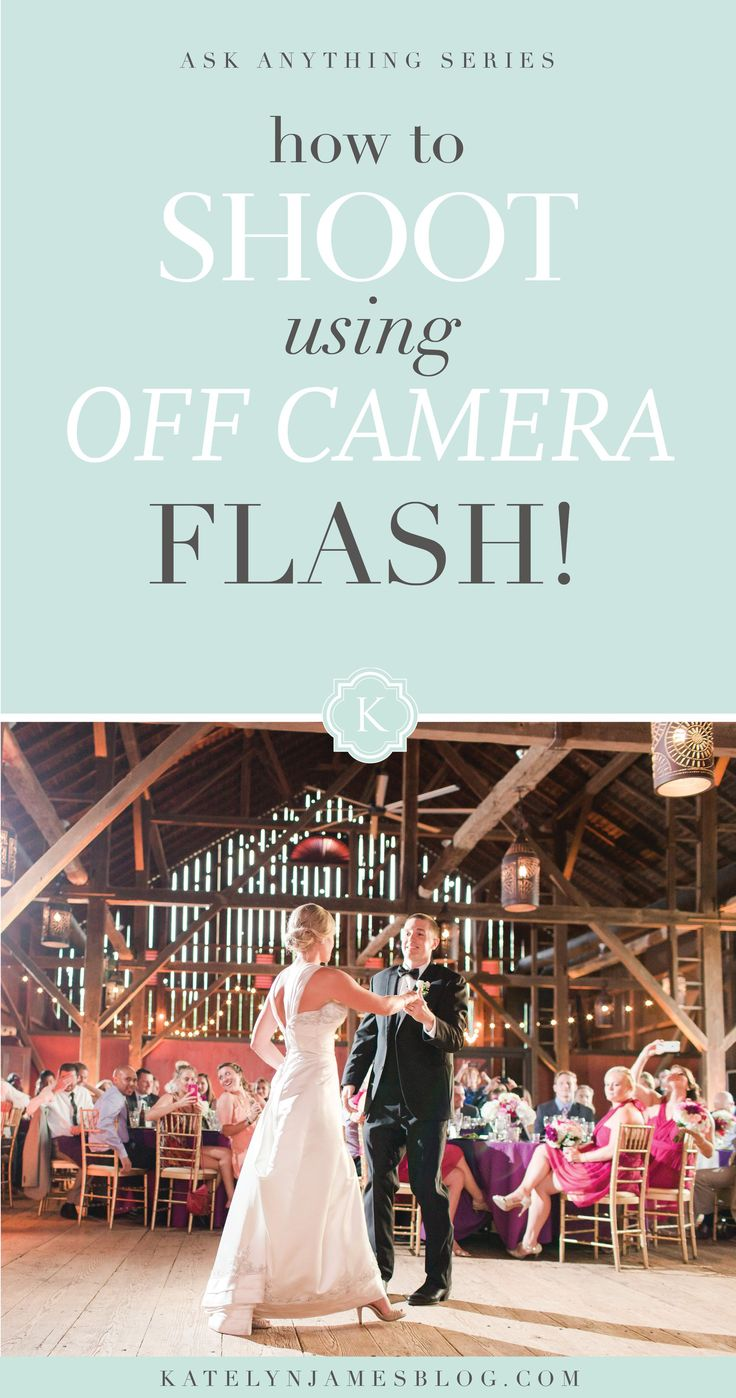 How to Shoot Using Off Camera Flash by Katelyn James Photography