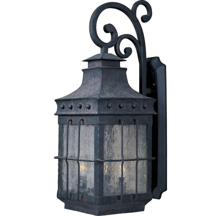 34 best outdoor lighting images on pinterest outdoor walls tudor iron grill outdoor wall light aloadofball Gallery