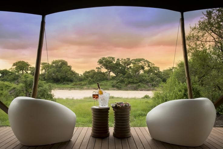 Africa's wild places offer tranquility and comfort in equal measure: Ngala Tented Camp in the Timbavati #Africa #Kruger #Romance #Engaged #proposal