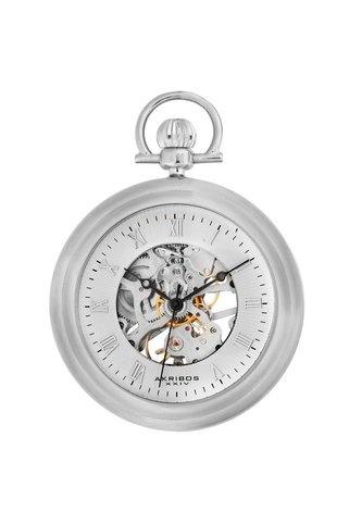 Akribos XXIV Mechanical Pocket Watch