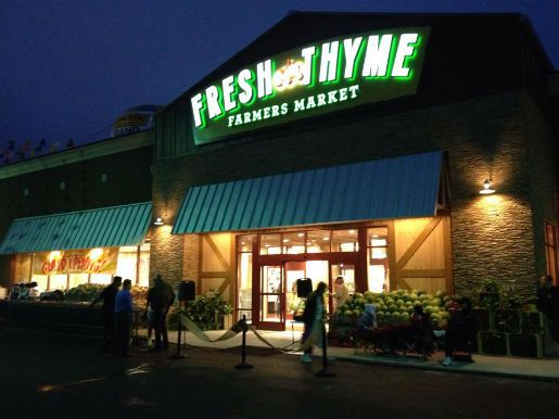 The growing list of natural and organic grocery stores opening in Columbus is, well, still growing. The first Ohio location of natural food store Fresh Thyme Farmers Market opens in Dublin today at 6670 Sawmill Rd.