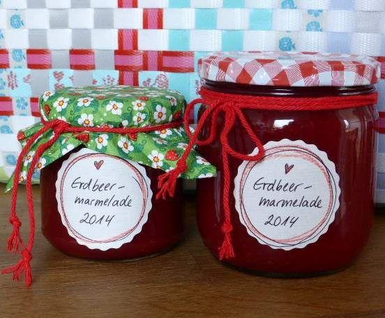 Erdbeermarmelade mit Tonkabohne