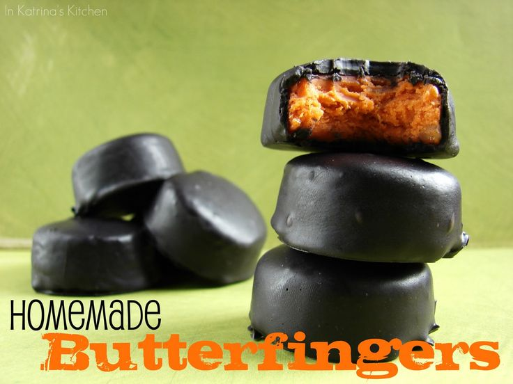 Homemade Butterfingers? must try!