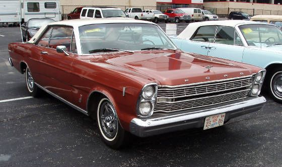 1966 ford galaxie 500 2 dr hardtop coupe american autos. Black Bedroom Furniture Sets. Home Design Ideas