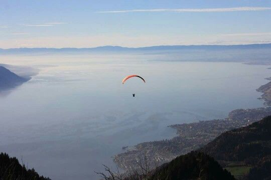 View lake leman