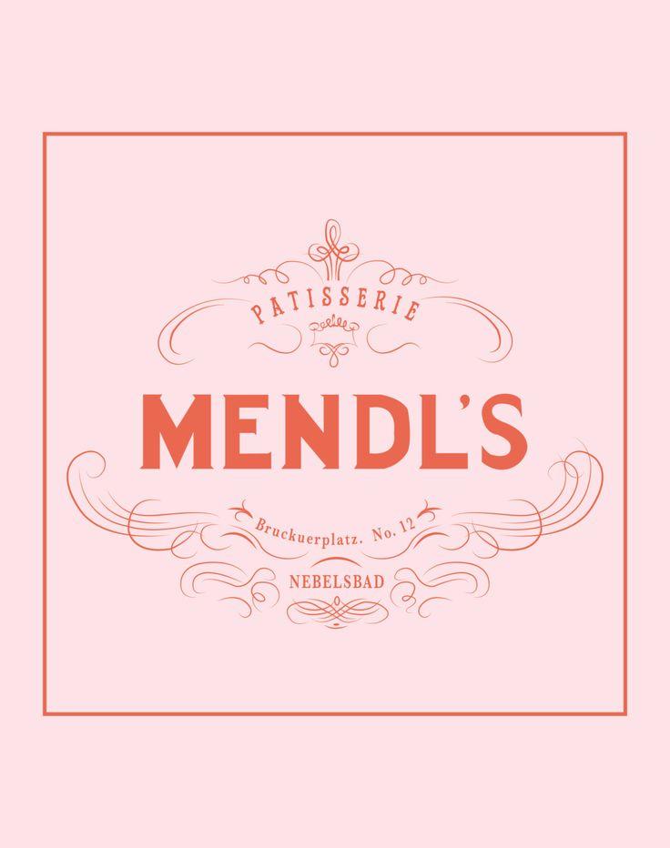 Patisserie de Mendl  de Wes Anderson le Grand par HaggardLibrary, $12.00