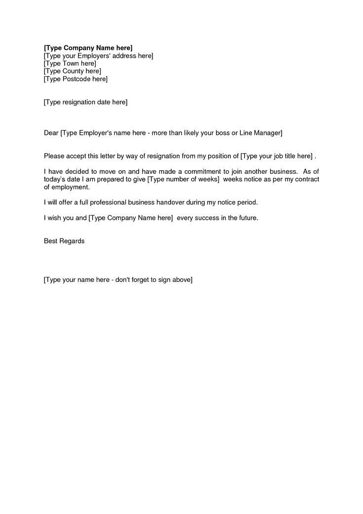 Resignation Letter Template One Week Notice Why Is Resignation Letter Template One Wee Resignation Letter Resume Cover Letter Template Cover Letter For Resume