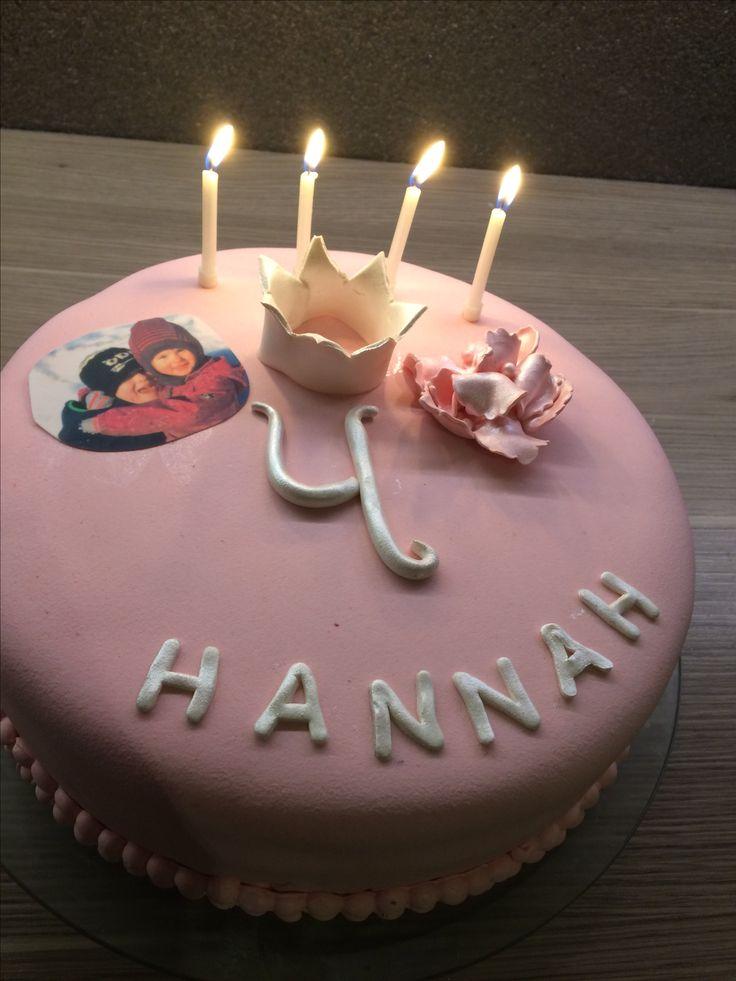 Når 4-åringen ønsker seg rosa kake, så blir det rosa kake! 😉 #birthday #cake #pink