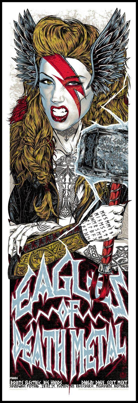 Rhys Cooper Pearl Jam & Eddie Vedder Poster Release Detail Plus Others