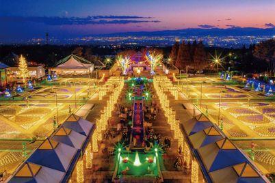 Gunma Flower Park Illumination: Fairies' Paradise