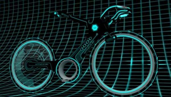 WinCicle Bicicleta Tron