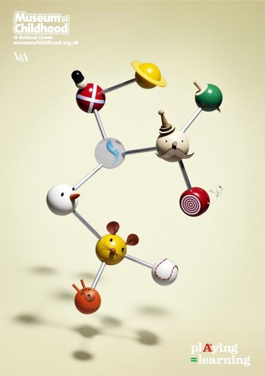 Museum of Childhood: Brain, Bear, Butterfly, Molecule