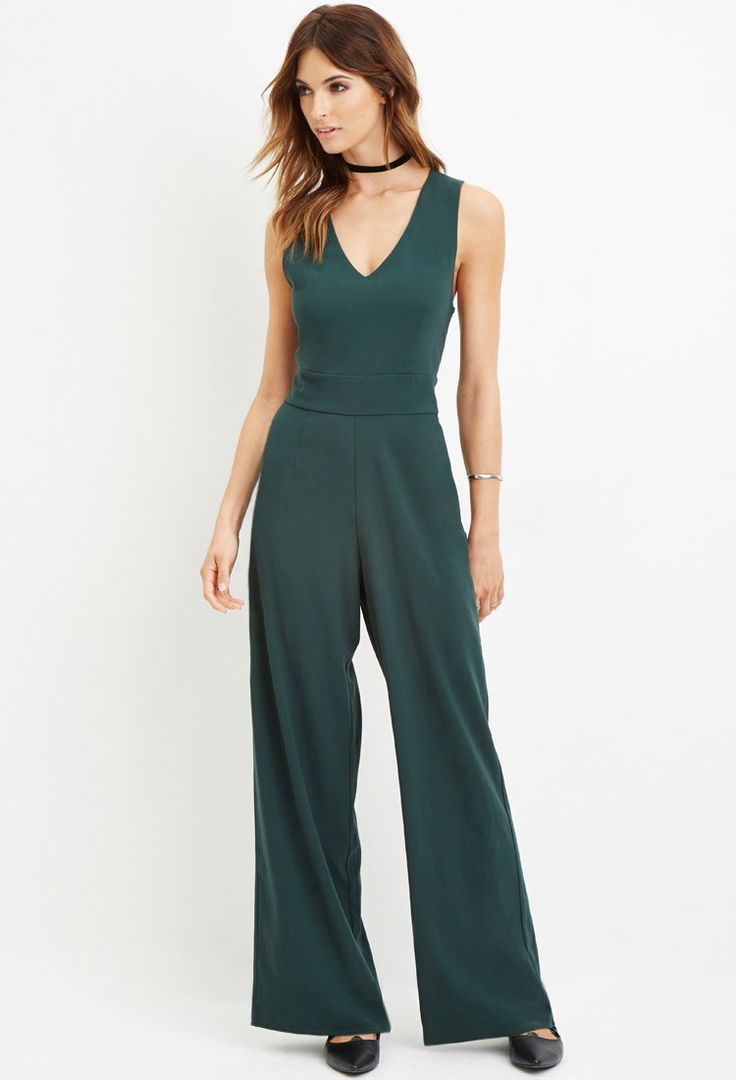 Contemporary Crisscross-Back Jumpsuit   Forever 21 Canada