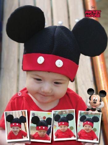 Gorro de Polar Mickey