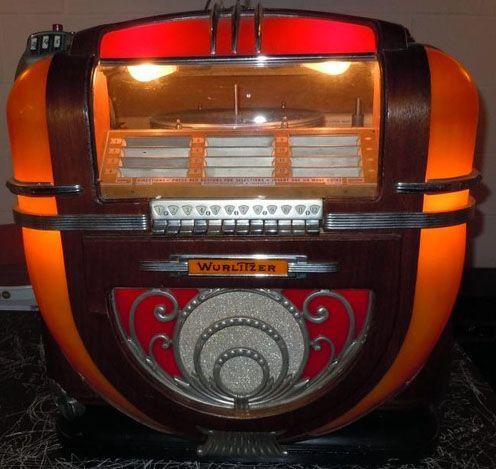 Jukebox de Table - Wurlitzer - Modèle 71 - Sans Sous ...