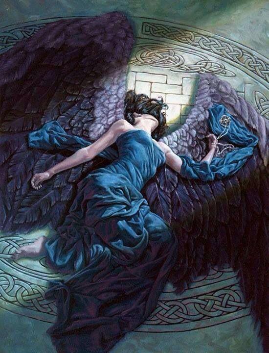 Открытки падший и ангел