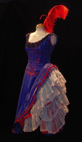 Bailarina de Saloon del Oeste #Vestuario
