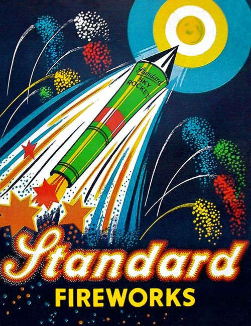 47 best Vintage 4th of July Fireworks images on Pinterest