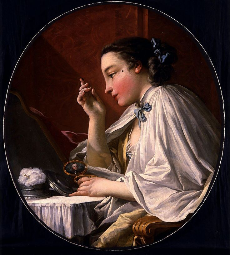 Boucher, a lady at her toilette, 1769