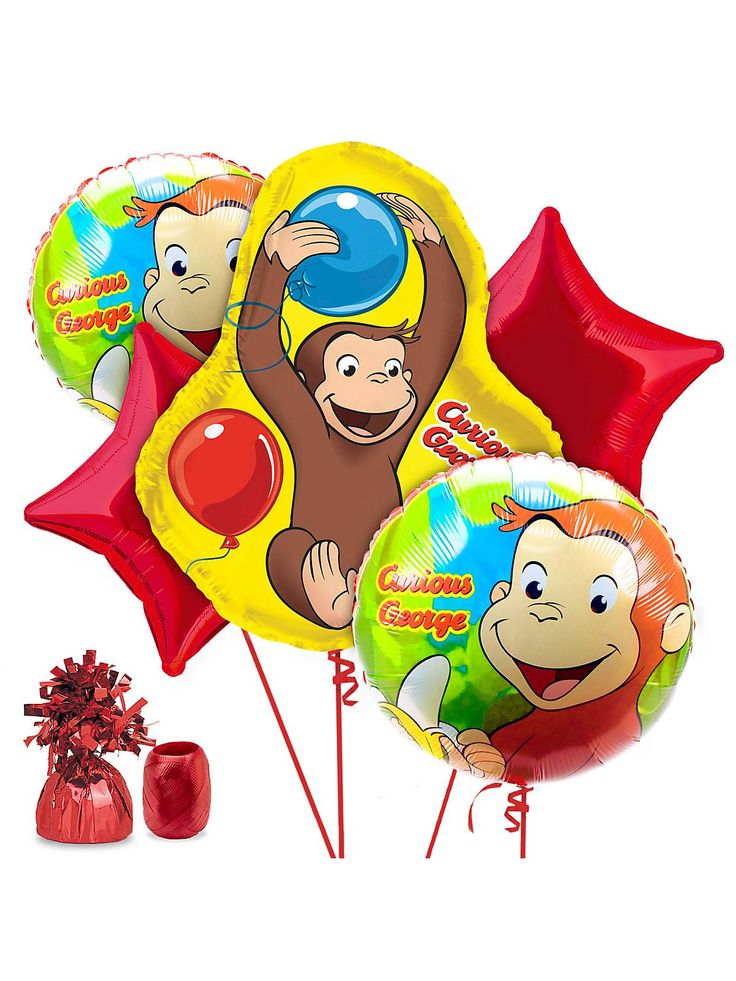 14 best Lucas 3rd Birthday Theme Curious George images on