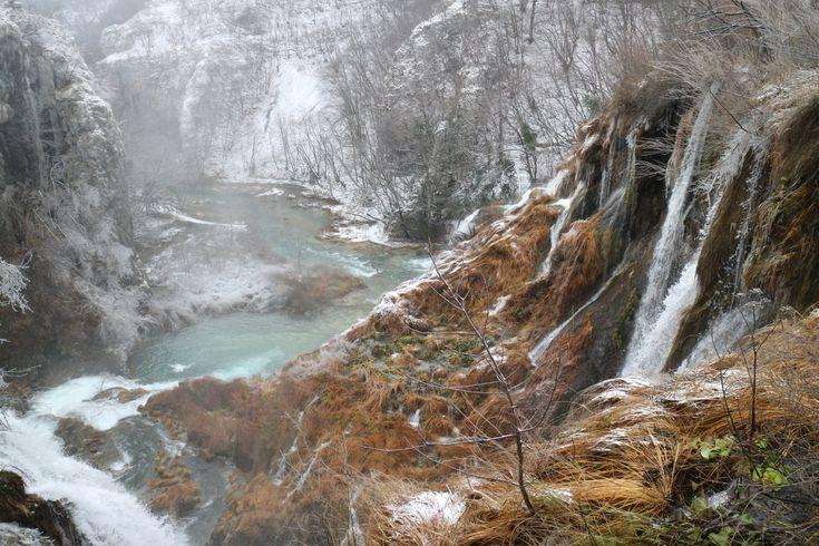 クロアチア プリトヴィッツェ湖群ハイク