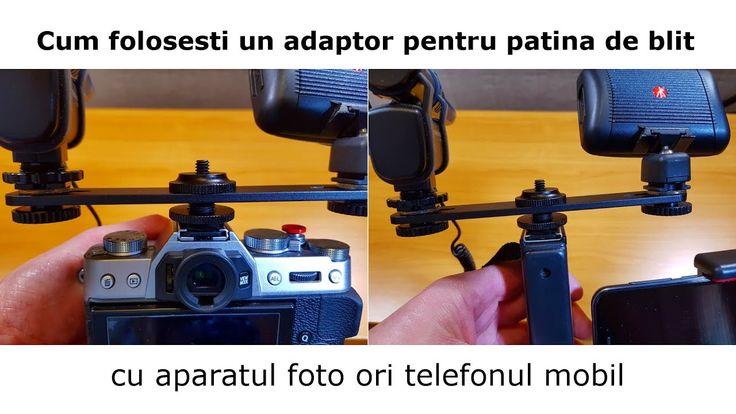 Cum folosesti un adaptor pentru patina de blit JJC MSA-11 cu aparatul fo...