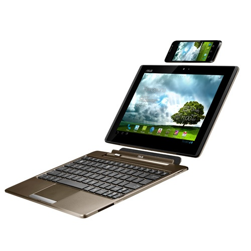Cellphone + Tablet + Netbook = PadPhone by Asus.