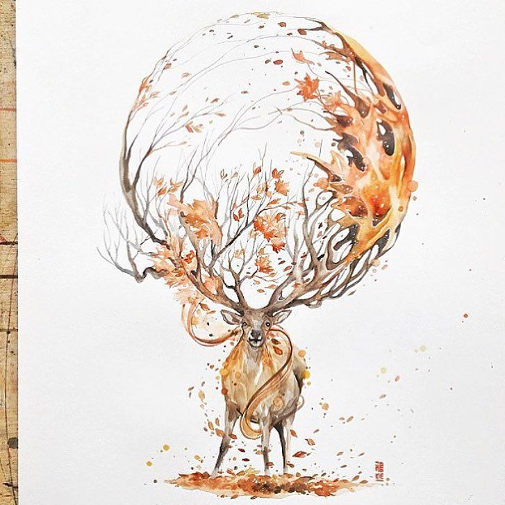 Autumn  By @jongkie - Check out @proartists for more! My collection of cool/interesting/inspirational artwork and photography from net