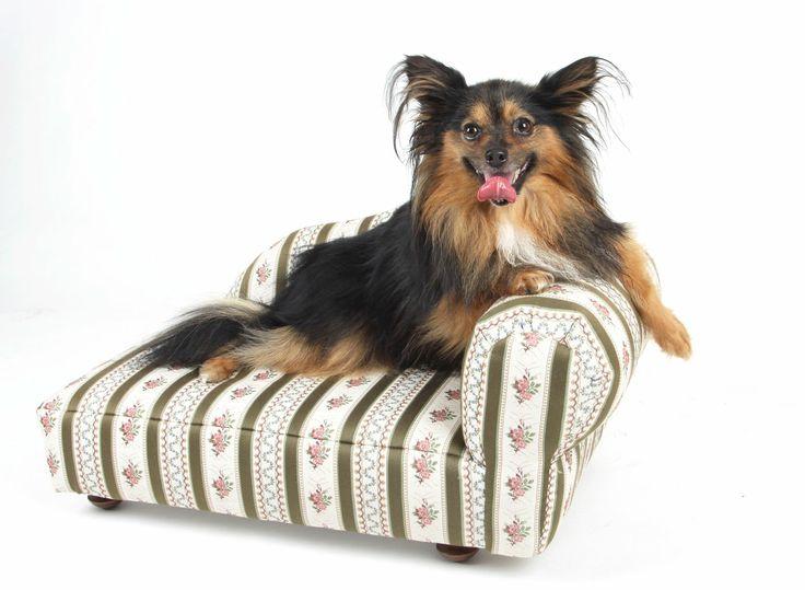 Luxusní čalouněné psí pelíšky