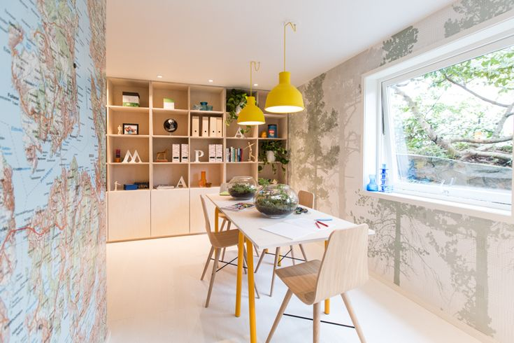 Biophilic interior design work by Oliver Heath Design for TV2's Tid for Hjem in Norway Photograph by Jan Inge Mevold Skogheim