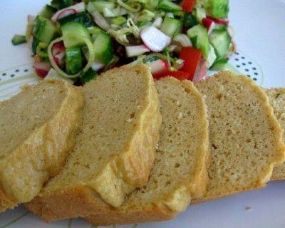Яичный белковый хлеб