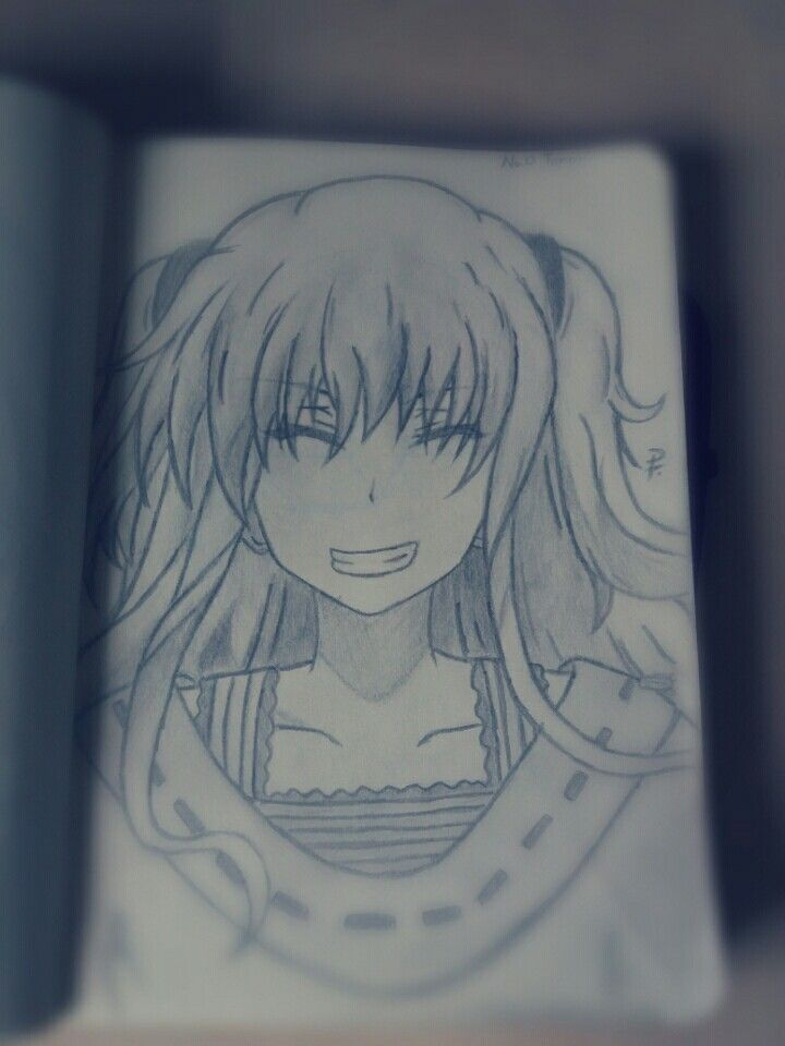 My First Drawing Of Nao Tomori