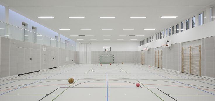 Sporthalle Franz-Mehring-Schule — Schulz und Schulz