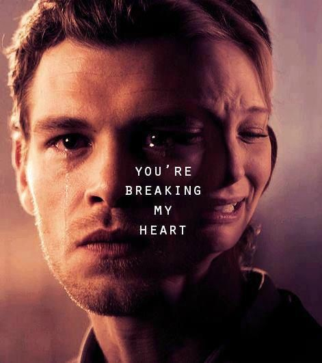 The Vampire Diaries - Klaus & Caroline.I love these two..