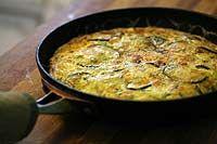 Zucchini Ricotta Frittata | Recipe