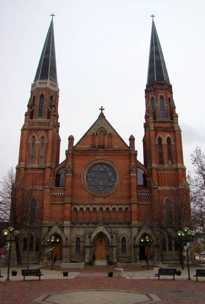 Ste. Anne de Detroit Catholic Church, Detroit, MI. Founded in 1701, it