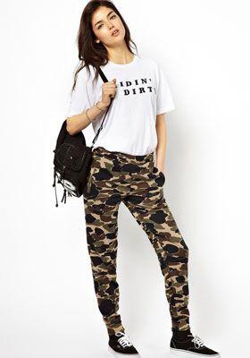 брюки и шорты в стиле милитари