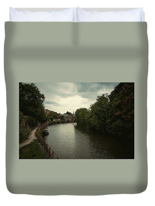 Travel Duvet Cover featuring the photograph Pictures Of Ghent by Elena Ivanova IvEA  #ElenaIvanovaIvEAFineArtDesign #ForHome #DuvetCovers #Gift