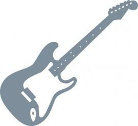Dibujo de guitarra eléctrica