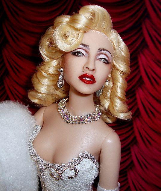 Madonna 1991 Oscars Doll By Cyguy dolls