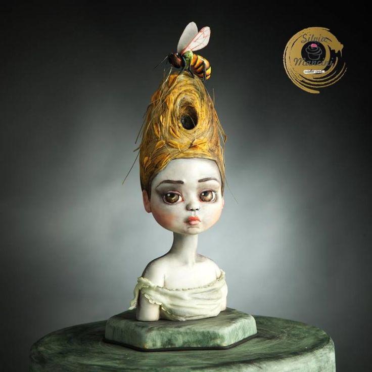 Queen Bee (Sugar Art Museum) - Cake by Silvia Mancini Cake Art