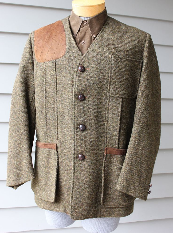 vintage 1960's ORVIS Men's Shooting jacket. Modified by StyleStash