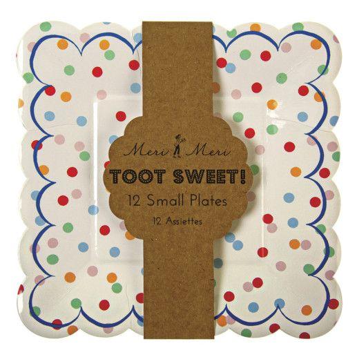 Pappteller – Toot Sweet Spotty