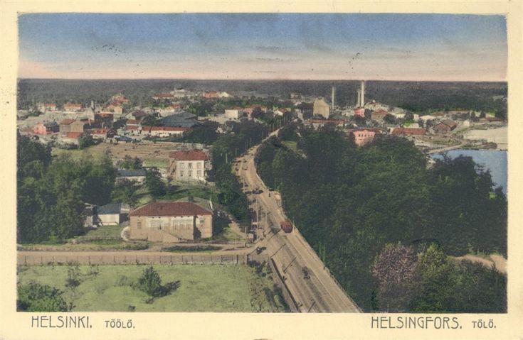 Postcard from Helsinki ca 1900 Töölö 1900-luvun alkupuolella. Postikortti (John Roitto).