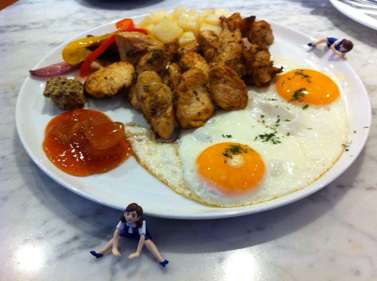 Breakfast with fuchiko