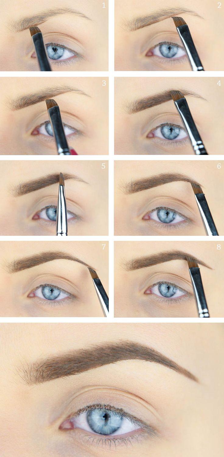 Måla ögonbrynen