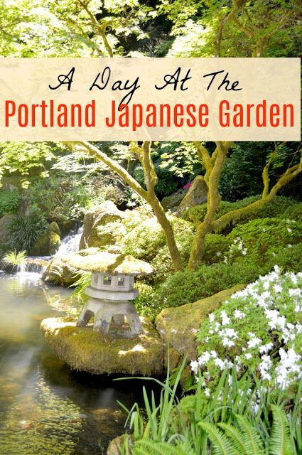MAPLE LEOPARD: A Day at the Portland Japanese Garden